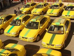 تجمع رانندگان تاکسی